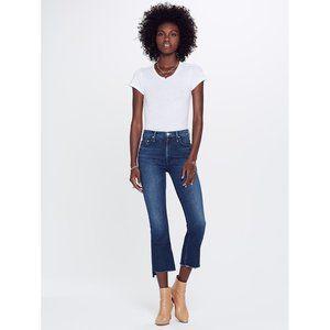 NWT MOTHER The Insider High Waist Step Hem Jeans